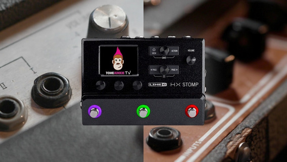 Tone Junkie Helix Stomp Presets Completo + I.r.