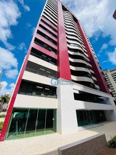 Imagem 1 de 26 de Apartamento Com 3 Dormitórios À Venda, 131 M² Por R$ 899.000,00 - Meireles - Fortaleza/ce - Ap0950