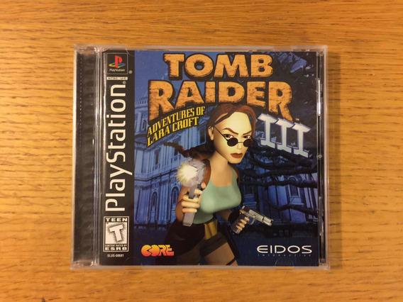 Tomb Raider 3 Ps1 Ps2 Ps3 Playstation 1 Colección