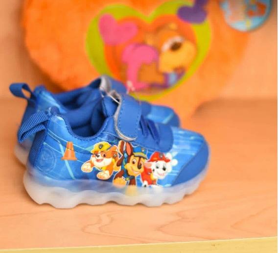 Zapatos Con Luces Para Bebe Paw Patrol Del 20 Al 31