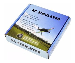 Simulador Vuelo Usb Para Aviones Drones Helicopteros Autos Rc Radiocontrol