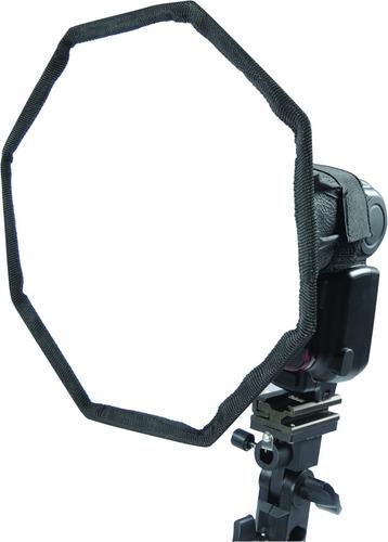 Imagen 1 de 10 de Difusor Softbox Octogonal P/ Flash 20cm Nikon Canon Yongnuo