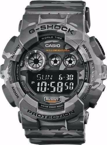 Relógio Casio Masculino G-shok Camuflado Gd-120cm 8dr Oferta