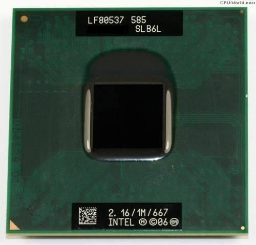 Processador Notebook Intel Celeron M585 2.16ghz 1mb Cache