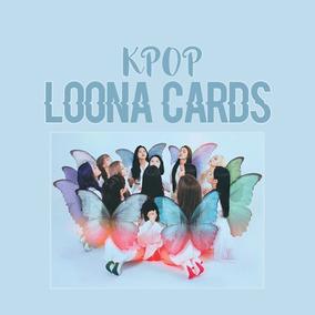 Kpop Loona Kit 12 Fotos - Cards - Papel Fotográfico