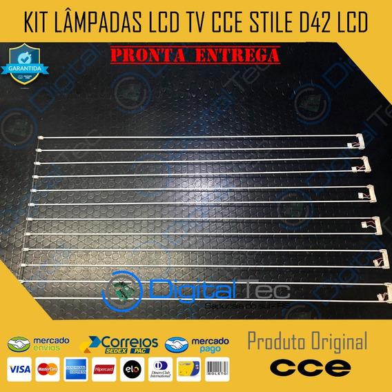 Kit Lâmpadas Lcd Tv Cce Stile D42 Lcd Testadas (não Envio)
