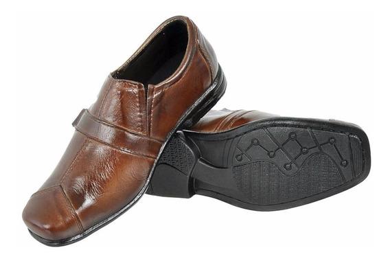 Sapato Social Infantil Masculino Couro Legitimo Muito Barato
