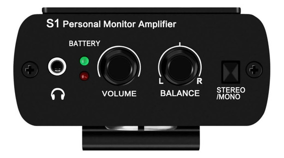 Sistema Personal Para Monitoreo De Auriculares Anleon S1 Stereo