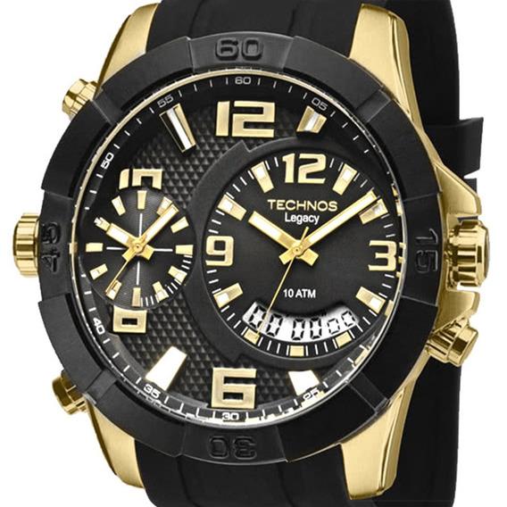Relógio Technos Masculino Legacy T205fj/8p Original + Nf