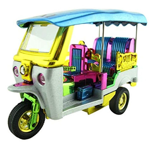 Taxi Triciclo De Juguete Con 3 Ruedas, Colores Variados