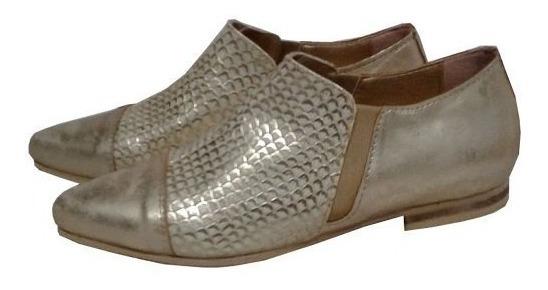 Zapatos Abotinados En Punta Stilleto Chatos Talles 35 Al 44