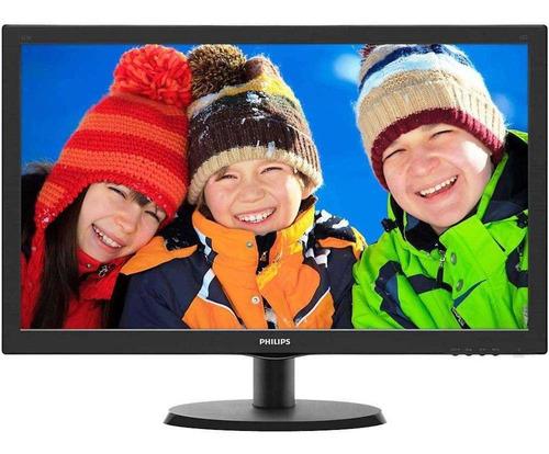 Monitor Led 21,5  Philips 223v5lhsb2, Full Hd, Vga, Hdmi