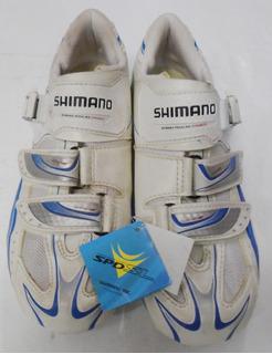 Sapatilha Feminina Speed Shimano Wr61 Branca Estrada (38br).