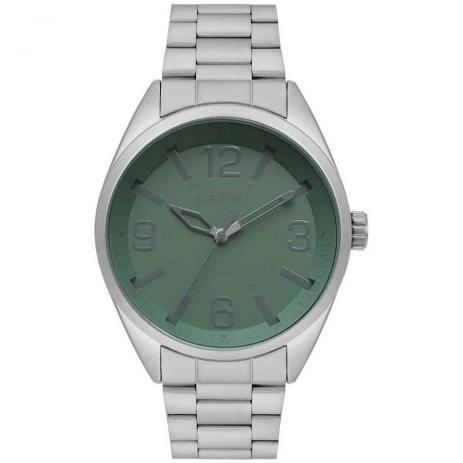 Relógio Condor Masculino Metal Prata Co2035mpm/3v + Brinde