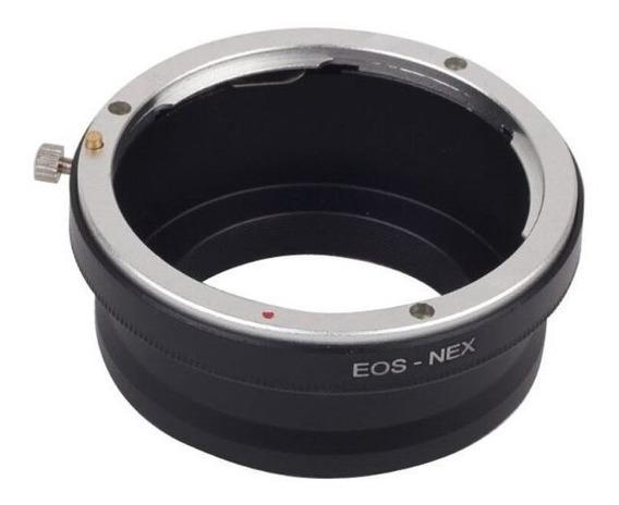 Adaptador Lente Canon Eos Sony E-mount Nex A7 A6500 A6300