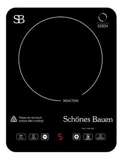 Parrilla eléctrica Schönes Bauen Essen negro 110V