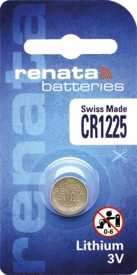 Bateria Pilha Lithium Renata Cr1225 - Caixa Com 10 Baterias