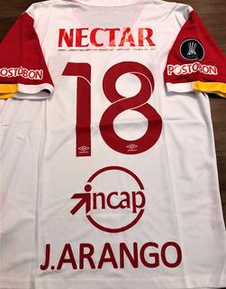 Camisa Independiente Santa Fé Libertadores 2017 Completa