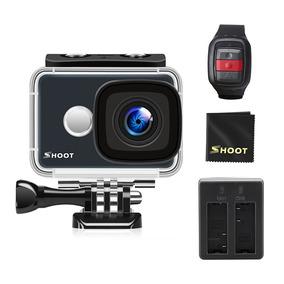 Shoot 4k Wi Fi Câmera Ação 2.4g Remoto 1080p 14mp 45m
