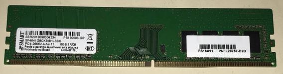 Memória Ddr4 8gb 2666mhz Smart 1rx8 Desktop Pc