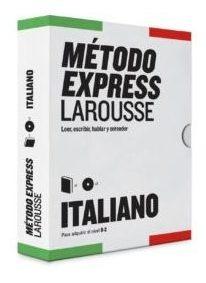 Italiano Método Express (libro + Cd), Larousse
