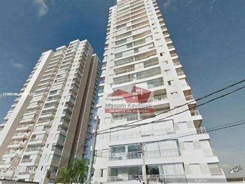 Apartamento Com 3 Dormitórios Para Alugar, 79 M² Por R$ 3.000,00/mês - Vila Dom Pedro I - São Paulo/sp - Ap13358