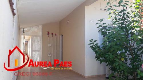 Casa Com 03 Dormitórios, Bairro Excelente Para Morar - P385