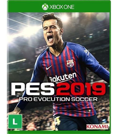 Jogo Xbox One Pes 2019 - Novo