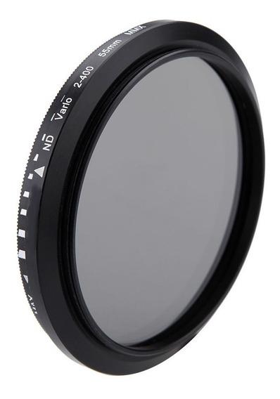 Filtro Nd Variavel Lente Nikon 50mm 1.8 Nd2 Até Nd400 52mm
