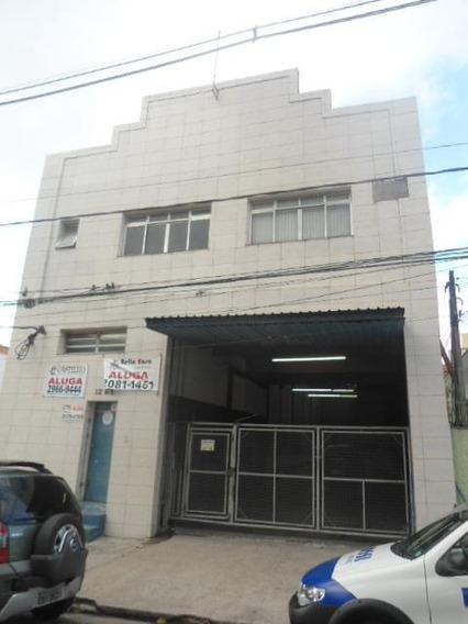 Galpão Comercial Para Locação, Moóca, São Paulo. - Ga0036