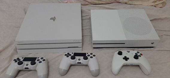 Kit Playstation 4 Ps4 Pro 2tb + Xbox One S