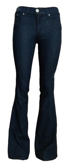 Jean Tall Mujer Ossira Azul Ancho En Botamanga.art621