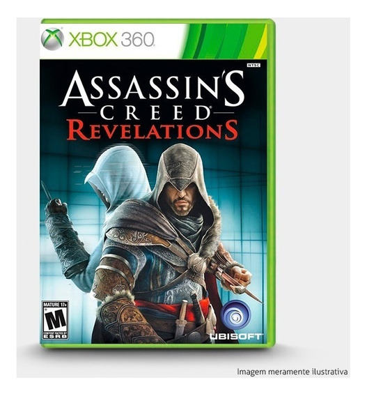 Assassins Creed Revelations - Original P Xbox 360 - Novo