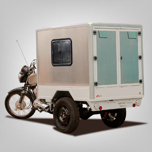 Triciclo De Carga Fusco F - Baú Pet Shop - Faz 30km/litro