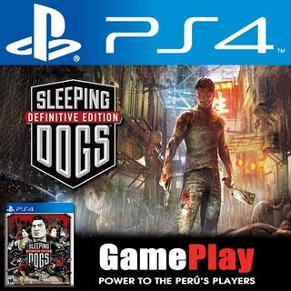 Sleeping Dogs. Juego Sellado Playstation 4 Playstation4 Ps4