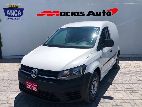 Volkswagen Caddy 1.6l Maxi Tm5 2016 Iva Credito Recibo Auto