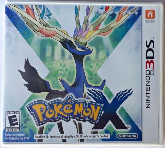 Pokémon X - Nintendo 3ds Mídia Física Lacrado Nota Fiscal !!