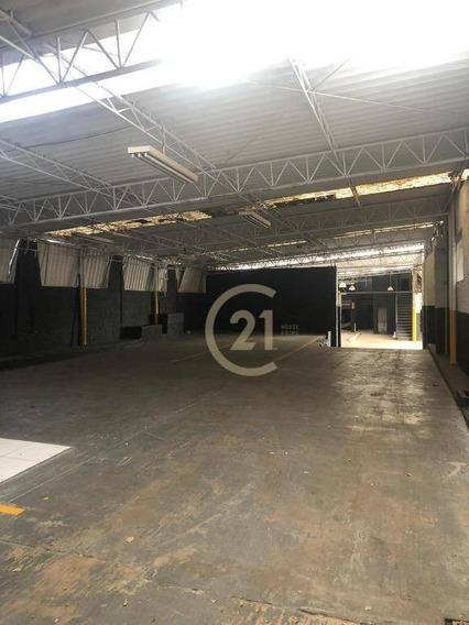 Galpão Para Alugar, 750 M² Por R$ 13.000,00 - Lapa - São Paulo/sp - Ga0325