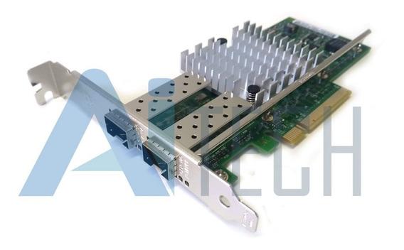 Placa De Rede Intel X520-da2 10gbits 2 Portas Spf+ Pci-e X8