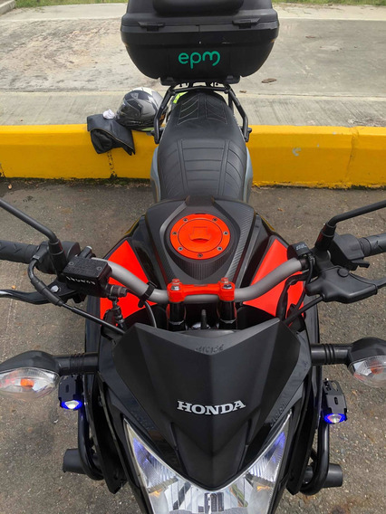 Honda Cb 160f Como Nueva