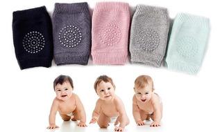 4 Pares De Rodilleras Para Bebé Gateo Sin Dolor