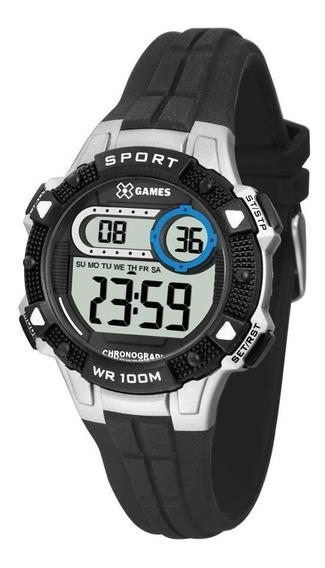 Relógio Digital Esportivo X-games P/ Meninos Xkppd060 Bxpx