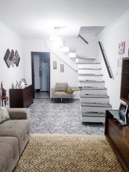 Sobrado Com 3 Dormitórios À Venda, 128 M² Por R$ 880.000 - Tatuapé - São Paulo/sp - So1097