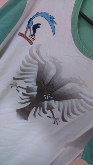 Camiseta Cavalera Águia Papa Léguas E Coyote G Original