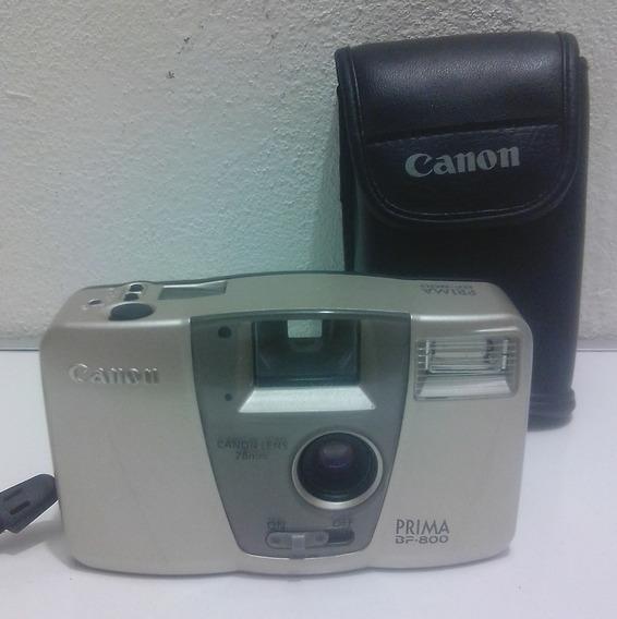 Camara Fotografica Canon Prima Bf-800, Sin Checar