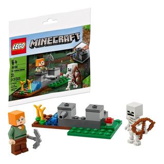Lego® Minecraft La Defensa Del Esqueleto Bolsita 30394