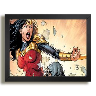 Quadro Super Herois Hq Dc Comics Ne5 Interiores Sala Escrito