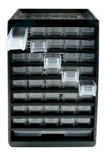 Gavetero Multiuso Reforzado Plastico 41 Divisiones 30x14x40c