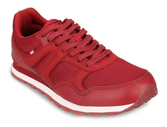 Zapatillas Topper Otto Urbanas Lifestyle Bordo Original