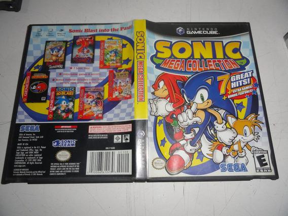 Sonic Mega Collection 7 Jogos Em 1 Original Gamecube Black